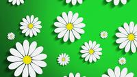 Motion Flowers Background