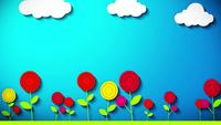 Flower Animation Background