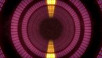 Túnel de luz abstracta