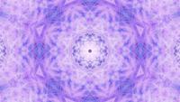 VJ loop 3d ilustración movimiento fondo en forma de estrella