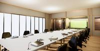 The Big Office Business: hermosa sala de reuniones japonesa