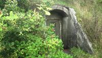 A World War 2 bunker entrance