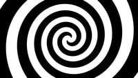 Hypnotische zwart-witte achtergrond 4K