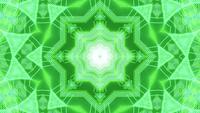 Neon dots hud nexus 3d illustration vj loop