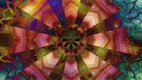 Blinking Color Changing Dots Kaleidoscope