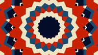 Geometrie patronen Retro stijl