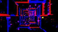 Mapa de cores Efeito de cores com movimento de fundo VJ Loop
