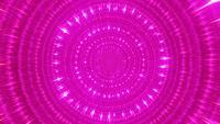 Glowing science fiction neon space tunnel visual vj loop