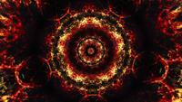 Patrón simétrico caleidoscópico