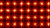 Abstract Loop Glowing Stars Mosaic Pattern Light Wall