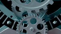 Abstrakta Retro klockhjul