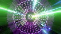Green space galaxy abstract 3d rendering dj loop