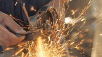 Verarbeitung von Metallschleifern